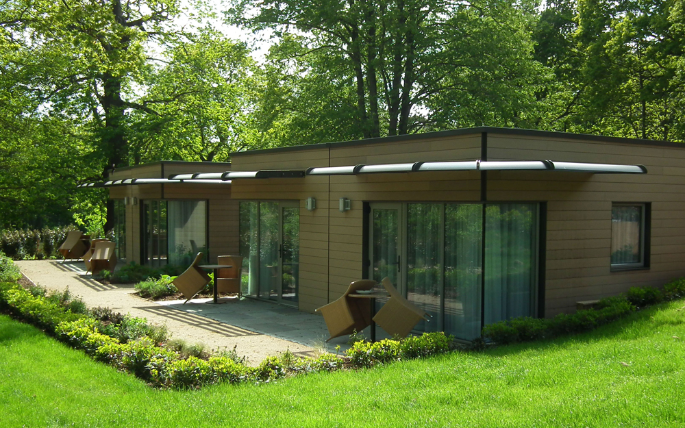 Prefabricated buildings in a variety of styles and layouts for Prefab garden room