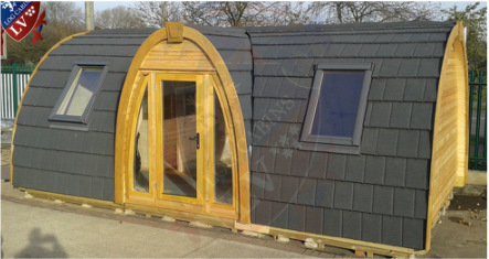 Wooden Camping Pods For Sale Glamping Pods Arch Leisure
