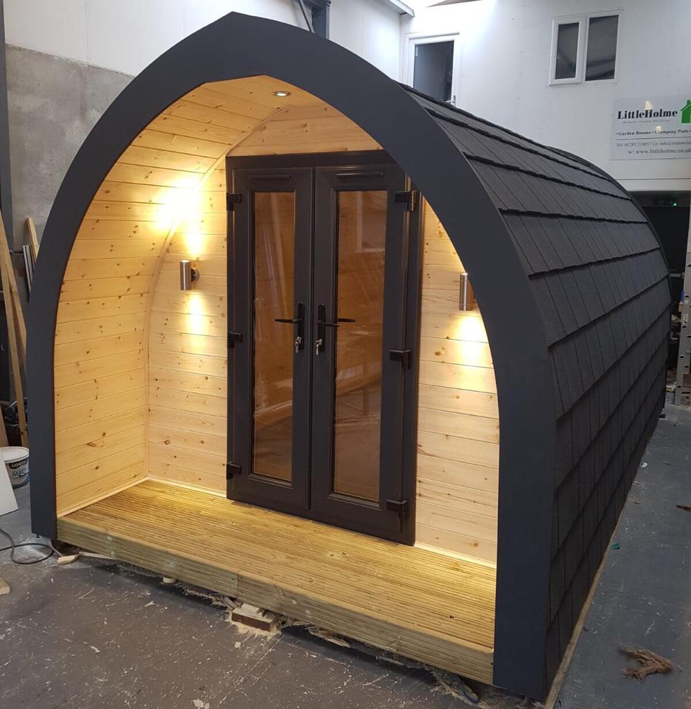entry level camping pod